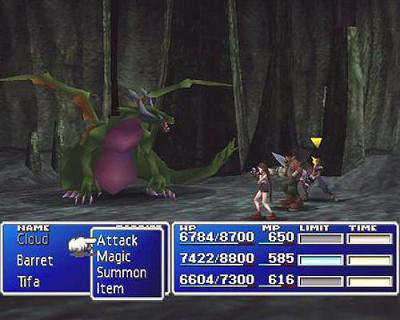 FF7 took one more step towards eliminating twitch from ATB, but stopped short.